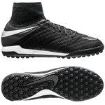 Nike HypervenomX Proximo Cuir TF Tech Craft Pack 2.0 - Noir/Argenté