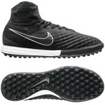 Nike MagistaX Proximo II Leather TF Tech Craft Pack 2.0 - Black/Metallic Silver