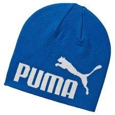 puma beanie logo - blue - hats