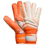 Reusch Gants de Gardien Serathor Pro G2 Evolution Ortho-Tec - Blanc/Orange
