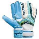 Reusch Gants de Gardien Serathor Pro AX2 Windproof - Aqua/Bleu Marine