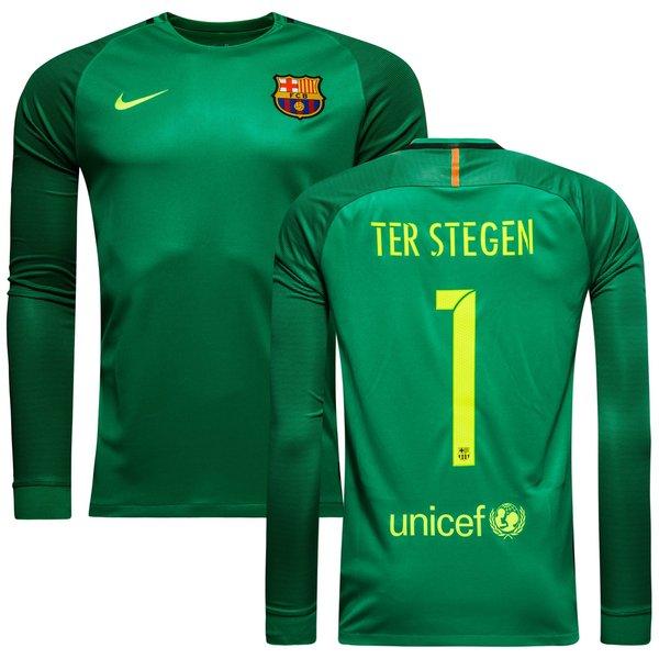 the best attitude de433 bbac6 Barcelona Goalkeeper Shirt 2016/17 TER STEGEN 1 Kids | www ...