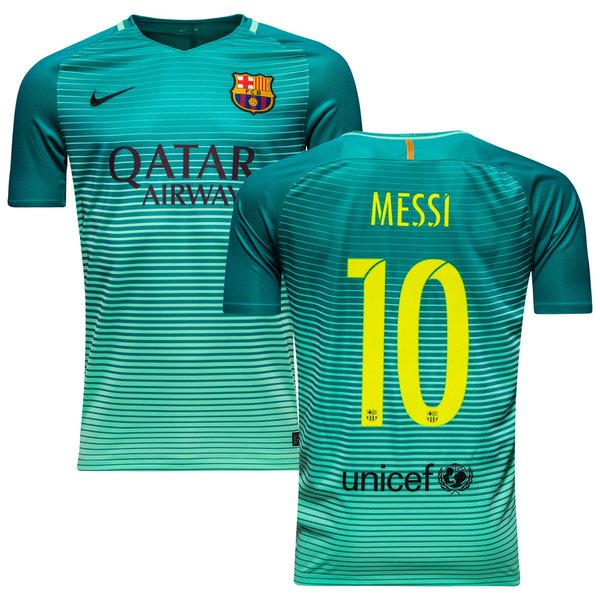67b33679e5 Barcelona Third Shirt 2016 17 MESSI 10