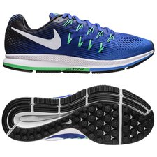 Nike Hardloopschoenen Air Zoom Pegasus 33 - Blauw/Wit/Paars