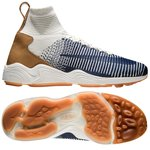Nike Mercurial XI Flyknit - Blanc Cassé/Bleu Marine
