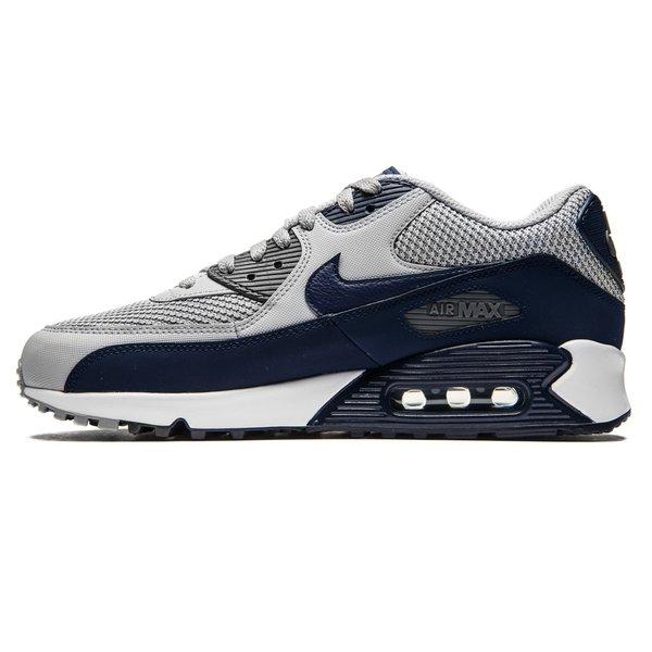 info pour c2870 d5389 Nike Air Max 90 Essential - Gris/Bleu Marine/Blanc