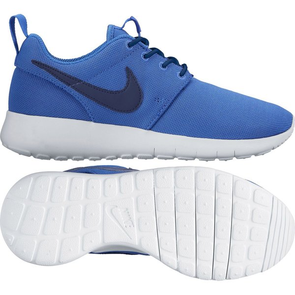 nike roshe run zwart wit