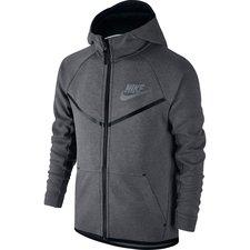 Nike Hoodie Tech Fleece - Grijs/Zwart Kinderen