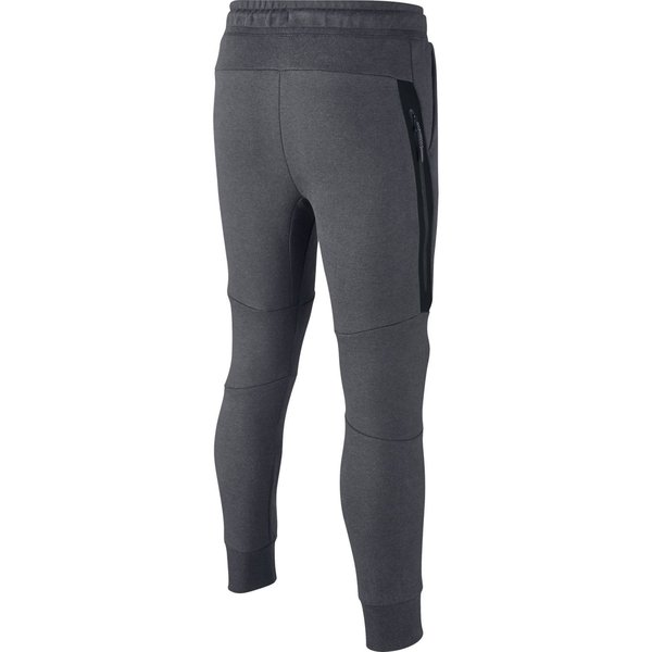 nike jogginghose nsw tech fleece grau schwarz kinder. Black Bedroom Furniture Sets. Home Design Ideas
