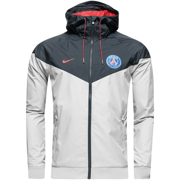 Paris Saint Germain Windrunner Authentic GrauGrauRot