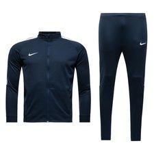 Nike Trainingspak Dry Squad 17 II Knit - Navy/Wit Kinderen