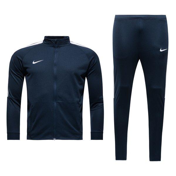f6e41e9277d1a Nike Trainingsanzug Dry Squad 17 II Knit - Navy Weiß Kinder 0