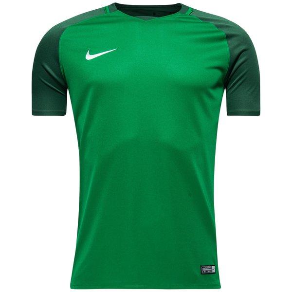 nike spilletrøje trophy iii - grøn - fodboldtrøjer