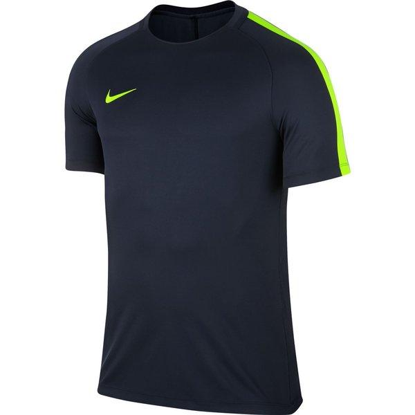 Nike Maillot Squad 17 II - Bleu Foncé/Jaune Fluo Enfant