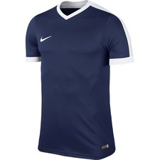 nike playershirt striker iv - midnight navy/white kids - football shirts