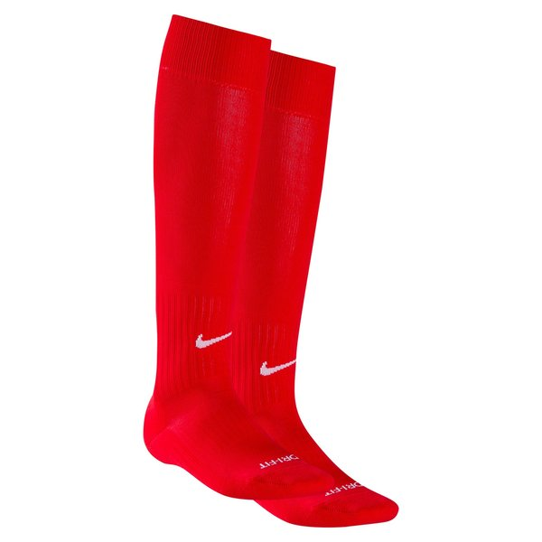Nike Chaussettes de Football Classic II - Rouge/Blanc