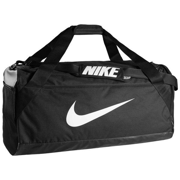 4ade268584 Nike Sac de Sport Brasilia Duffel M - Noir/Blanc | www.unisportstore.fr