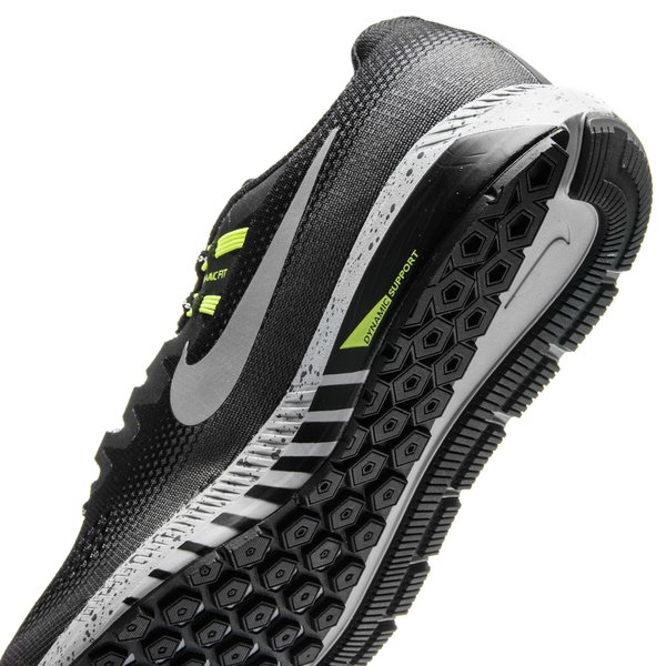 06b32dac69a3 Nike Running Shoe Air Zoom Structure 20 Shield - Black Metallic Silver Dark  Grey Women. Read more about the product. - running shoes