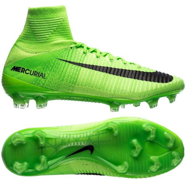 Nike Mercurial Superfly V FG Radiation Flare - Groen/Zwart. Lees meer over  het product. - voetbalschoenen. - voetbalschoenen