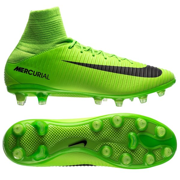 new styles 4bc57 a856f Nike Mercurial Veloce III DF AG-PRO Radiation Flare Vert Noir 0