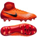 Nike Magista Obra II FG Radiation Flare - Total Crimson/Black