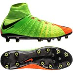 Nike Hypervenom Phantom 3 DF AG-PRO Radiation Flare - Electric Green/Black/Hyper Orange