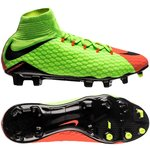 Nike Hypervenom Phatal 3 DF FG Radiation Flare - Vert/Noir/Orange