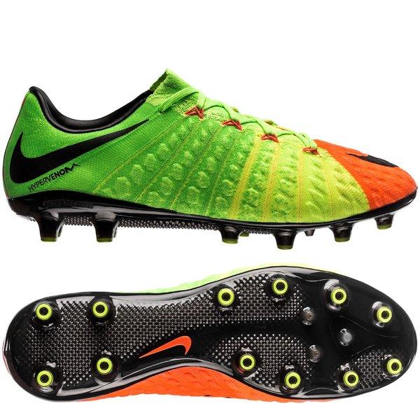 buy online a1a47 b946b Nike Hypervenom Phantom 3 AG-PRO Radiation Flare - Electric  Green Black Hyper