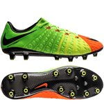 Nike Hypervenom Phantom 3 AG-PRO Radiation Flare - Electric Green/Black/Hyper Orange