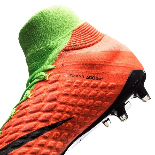 newest e4a5a 847e2 Nike Hypervenom Phantom 3 DF FG Radiation Flare - Vihreä Musta Oranssi 10