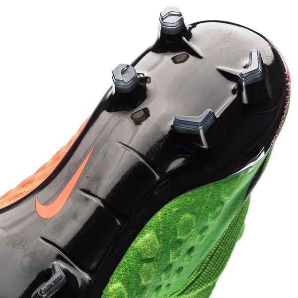 super cute 7e936 b2f40 Nike Hypervenom Phantom 3 DF FG Radiation Flare - Vihreä Musta Oranssi 11