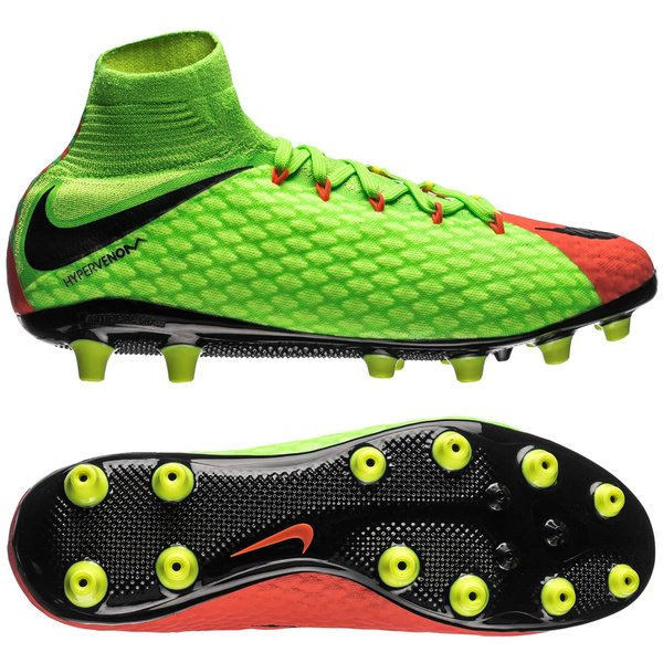 b7bea24163 Nike Hypervenom Phatal 3 DF AG-PRO Radiation Flare - Electric  Green/Black/Hyper Orange | www.unisportstore.com
