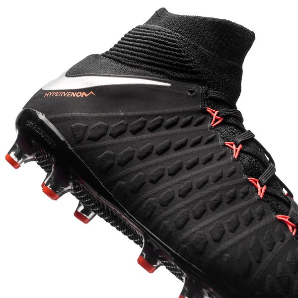 c18a19ce3bc7 Nike Hypervenom Phantom 3 DF AG-PRO Black Pack - Black/Metallic Silver/