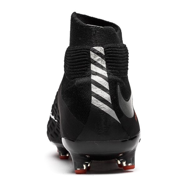 new product 6e64b f25c8 Nike Hypervenom Phantom 3 DF AG-PRO Black Pack - Schwarz Silber Grau