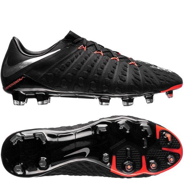 Nike Hypervenom Phantom 3 FG Black Pack