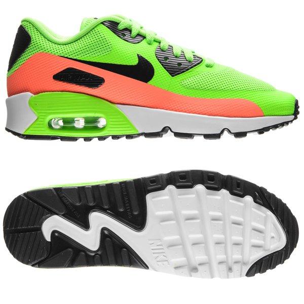 nike air max in grün orange und schwarz für kinder