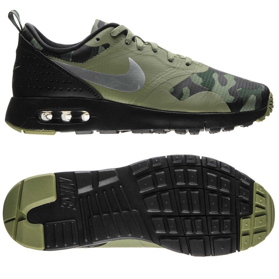 nike air max tavas black metallic silver palm green kids. Black Bedroom Furniture Sets. Home Design Ideas