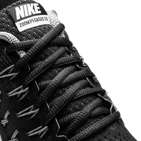 Nike Chaussures de Running Air Zoom Pegasus 33 NoirArgentéGris Enfant