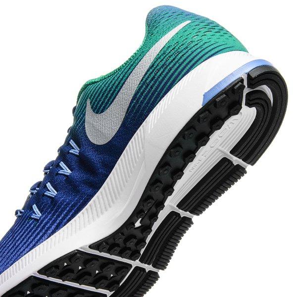 fb6e08342eb12 Nike Running Shoe Air Zoom Pegasus 33 - Paramount Blue Metallic Silver Kids