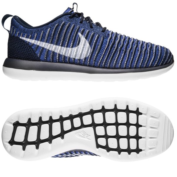 8e8d18eca8d2 Nike Roshe Two Flyknit - Collegiate Navy White Kids. Read more about the  product. - sneakers. - sneakers image shadow