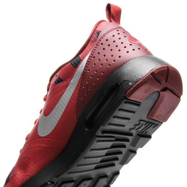 Nike Air Max Tavas Rouge Argenté Noir Enfant