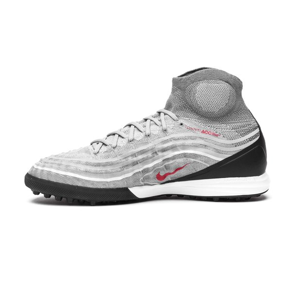 90310f5a082f Nike MagistaX Proximo II DF TF Revolution - Cool Grey Varsity Red Black  LIMITED