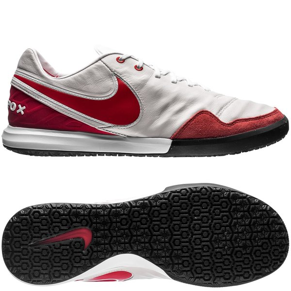 6e583d8c9272bb nike tiempox proximo ic revolution - summit white university red limited  edition - indoor shoes ...
