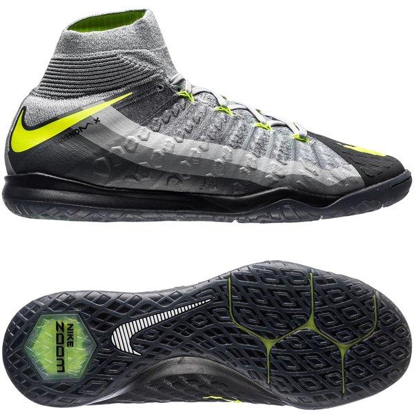 Sokkesko Nike Innesko HypervenomX Proximo II DF IC Svart Grå