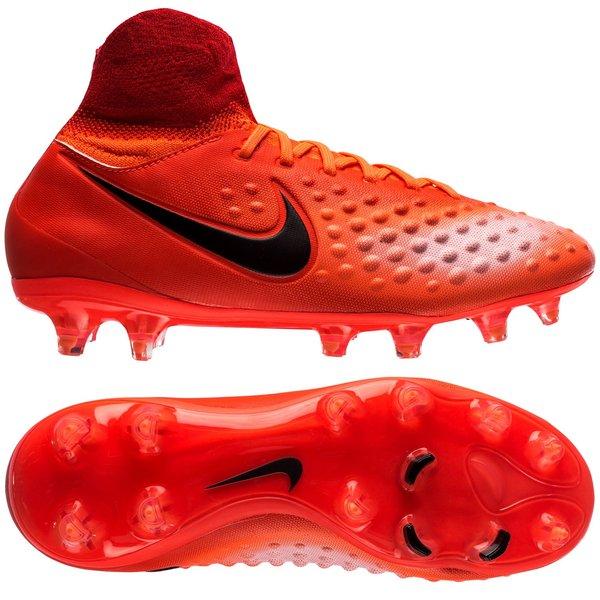 Nike Magista Obra II Nike Magista Obra II FG Radiation Flare - Total Crimson/Black Kids ...
