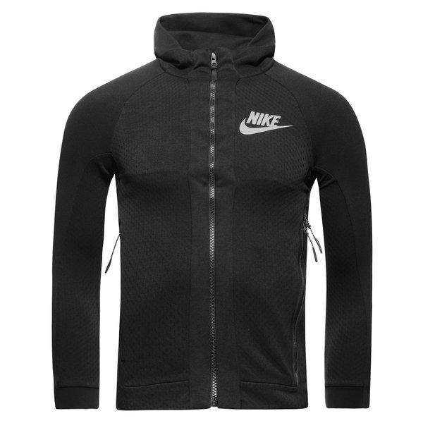 Nike Veste à Capuche FZ Sportswear Tech Fleece NoirGris