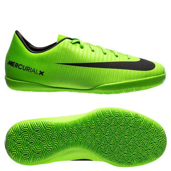 tani ceny odprawy szczegółowy wygląd Nike MercurialX Victory VI IC Radiation Flare - Electric Green/Black Kids
