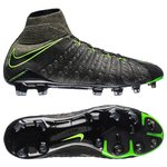 Nike Hypervenom Phantom 3 DF FG Tech Craft - Schwarz/Grün/Grün