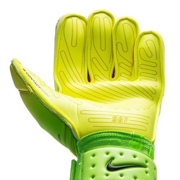 5fdeac9d05a Nike Goalkeeper Gloves Premier SGT Radiation Flare - Electric Green Volt  Black. Read more about the product. - goalkeeper gloves