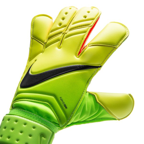 nike gants de gardien vapor grip 3 radiation flare vert jaune fluo noir. Black Bedroom Furniture Sets. Home Design Ideas